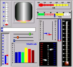 Click to view CST Gauge ActiveX Control 3.6 screenshot