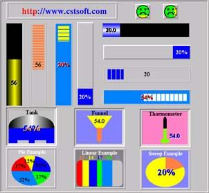 CST Percent ActiveX Control
