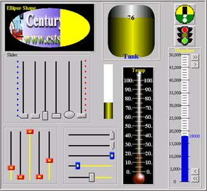CST Slider ActiveX Control